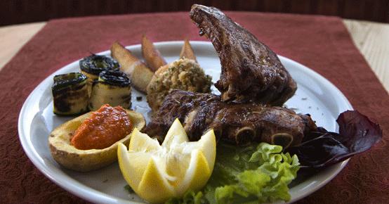 spare ribs cucina tipica trentina