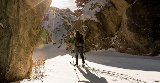sci alpinismo val di fassa